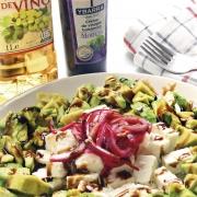 recetas ybarra ensalada de aguacate con crema de vinagre balsamico y aceite de oliva virgen extra