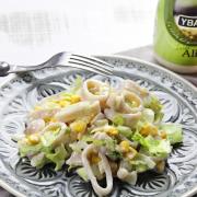recetas ybarra ensalada de calamares con salsa de alioli
