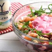recetas ybarra ensalada de espirales con mayonesa ligera