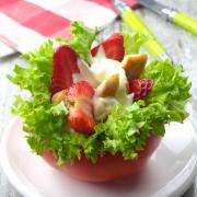 recetas ybarra ensalada de fresas y pollo