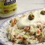 recetas ybarra ensalada de gallina con mayonesa