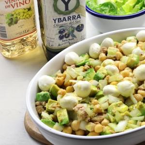 recetas-ybarra-ensalada-garbanzos-aceite-oliva-virgen-extra-vinagre-vino