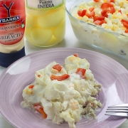 recetas ybarra ensalada peruana con mayonesa sriracha