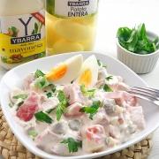 recetas ybarra ensalada piamontesa con mayonesa y patata