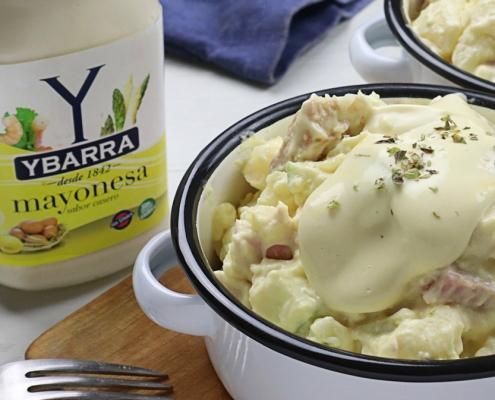 recetas-ybarra-ensalada-pollo-patatas-mayonesa