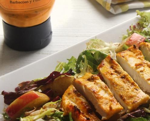 recetas ybarra ensalada de pollo con salsa gaucha
