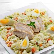 recetas ybarra ensladilla cesar con mayonesa