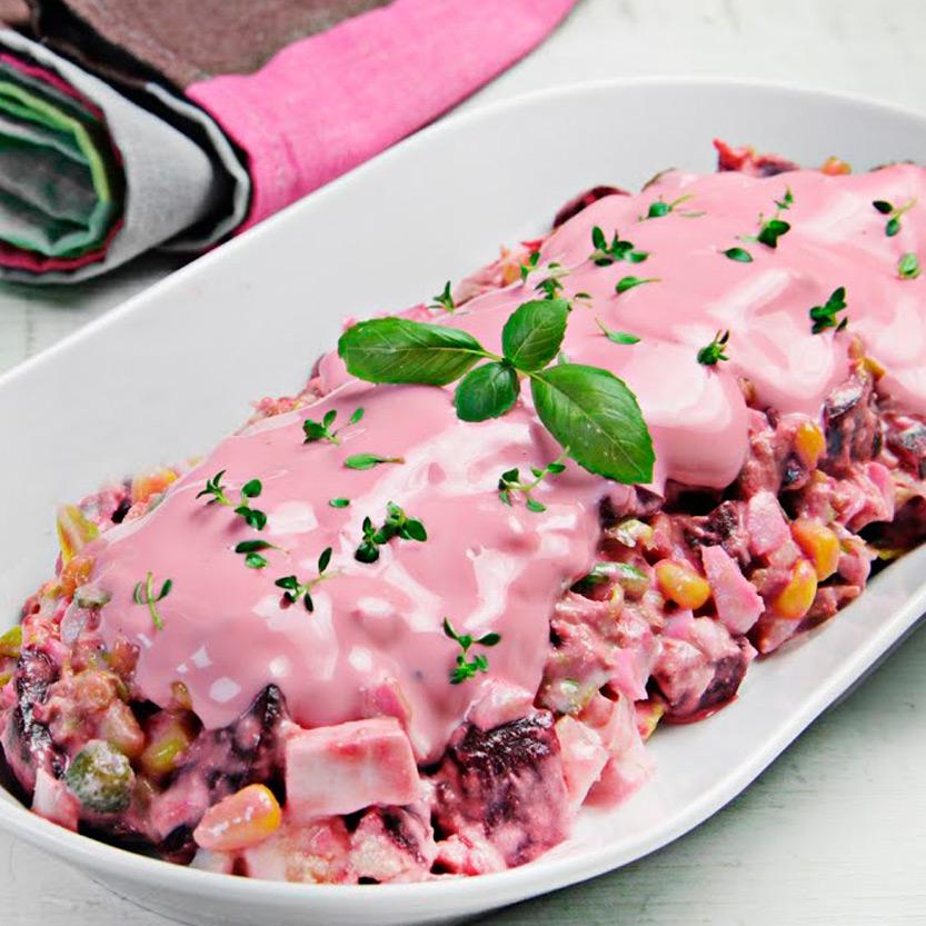 recetas ybarra ensaladilla con remolacha y mayonesa