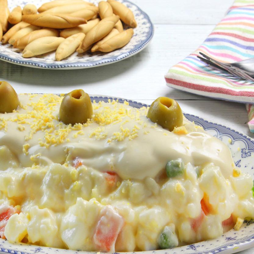 recetas ybarra ensaladilla ybarra con mayonesa