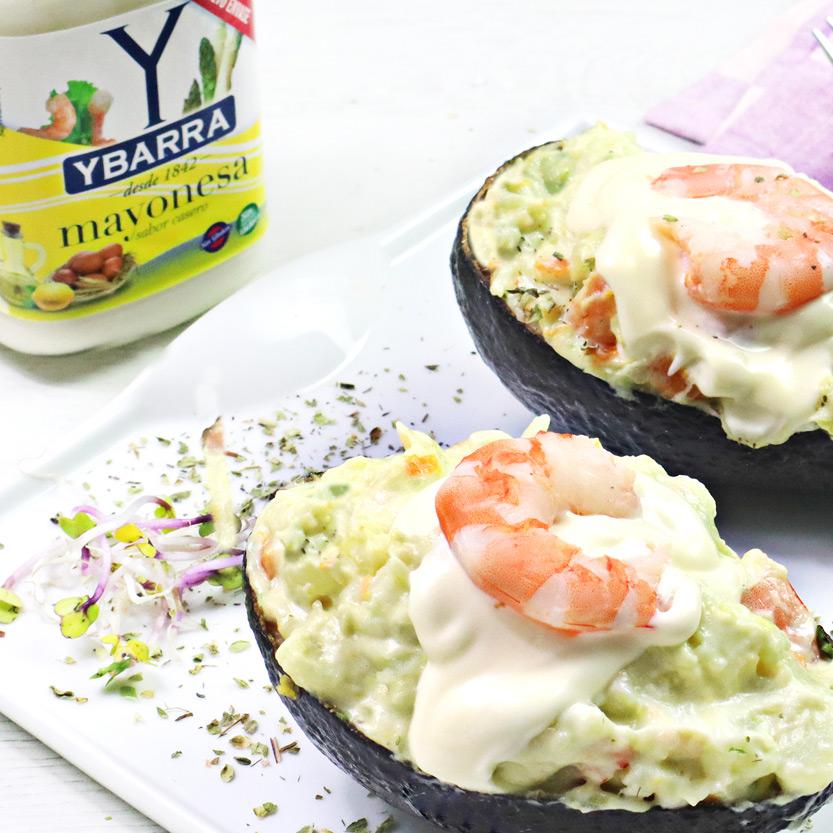recetas ybarra ensaladilla de aguacate y mayonesa