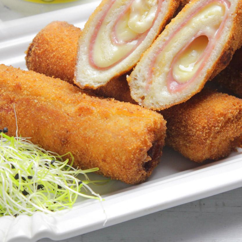 recetas ybarra flamenquines con pan de molde y mayonesa