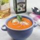 recetas ybarra de gazpacho de zanahoria, vinagre de vino y aceite virgen extra