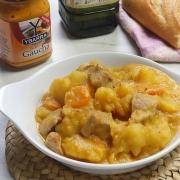 recetas ybarra patatas con pavo y salsa gaucha