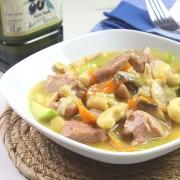 recetas ybarra guiso de pavo con anacardos