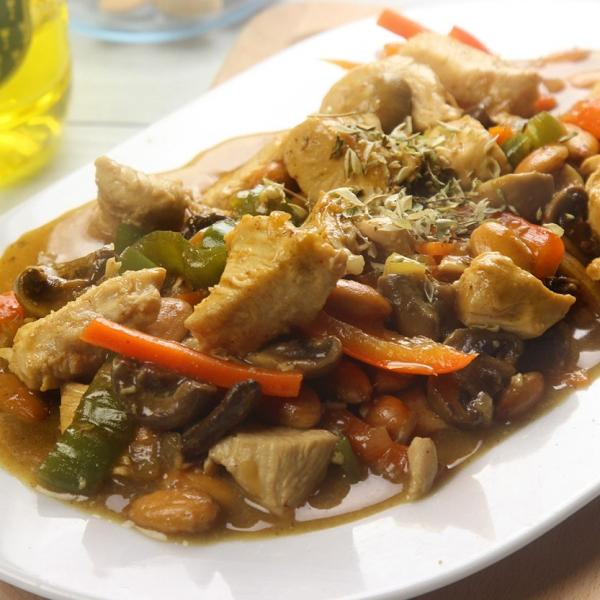 recetas ybarra de guiso de pollo con almendras