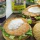 recetas ybarra hamburguesas de salmon con mayonesa y salsa tartara