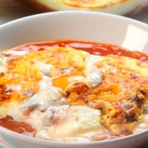 recetas ybarra huevos gratinados con pisto