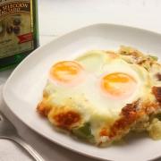 recetas ybarra huevos napoleon con aceite virgen extra