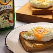 recetas ybarra huevos nube en aceite virgen extra