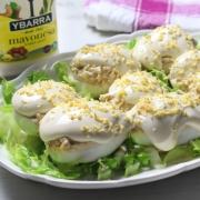 recetas ybarra huevos rellenos de atun y mayonesa para verano