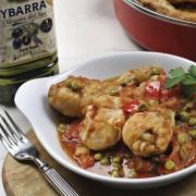 recetas ybarra de jamoncitos de pollo con aceite de oliva virgen extra