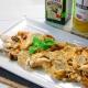 recetas ybarra lubina con cardo, nueces y aceite virgen extra