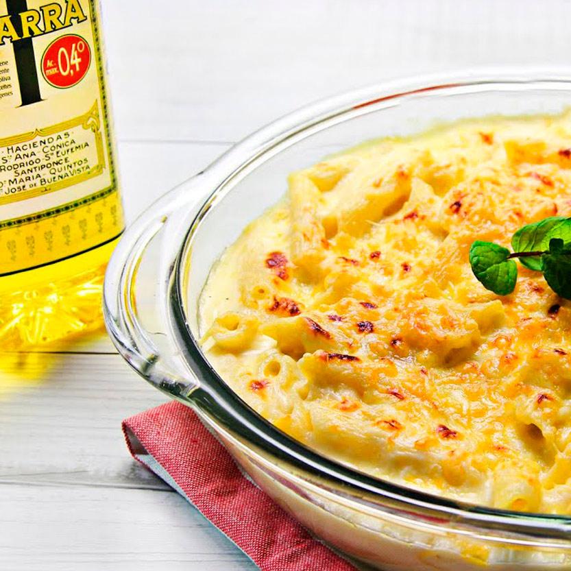 recetas ybarra macarrones con queso