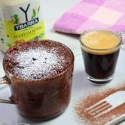 recetas ybarra mayocake de chocolate a la taza y mayonesa