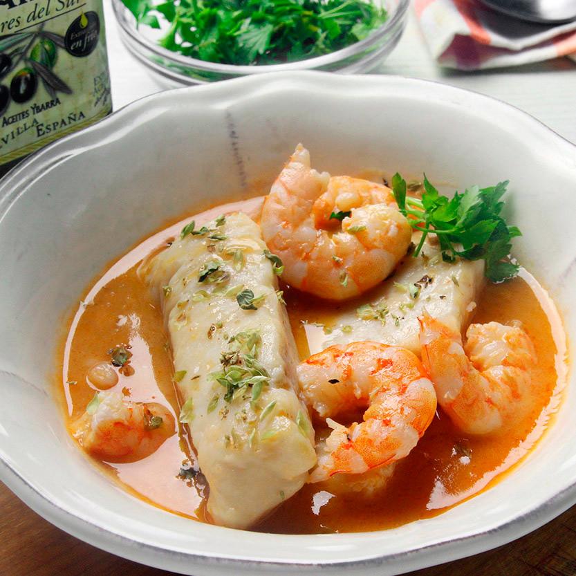 recetas-ybarra-merluza-langostinos-aciete-oliva-virgen-extra