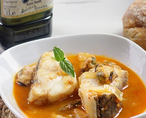 recetas ybarra merluza en salsa