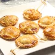 recetas ybarra mini piruletas de queso con mermelada