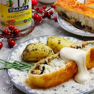recetas ybarra merluza wellington con mayonesa para navidad