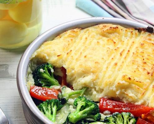 recetas ybarra parmentier de patatas enteras y verduras