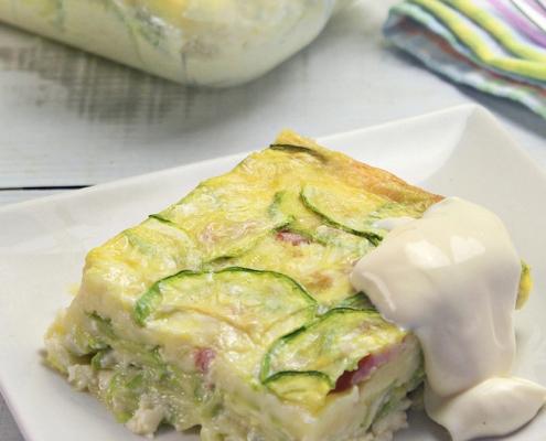 recetas ybarra pastel de calabacin con mayonesa