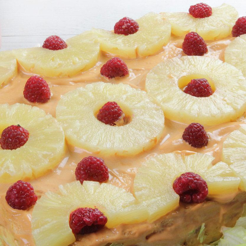 recetas ybarra pastel con salsa cocktail de marisco