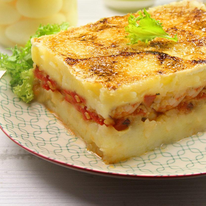 recetas ybarra pastel gratinado con alioli y mayonesa
