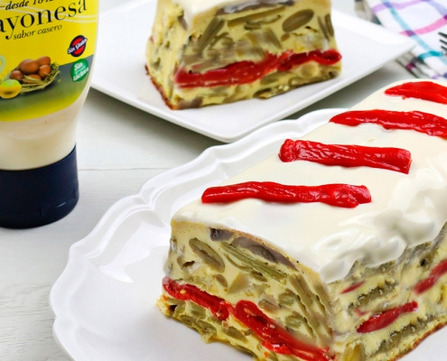 recetas-ybarra-pastel-judias-verdes-mayonesa
