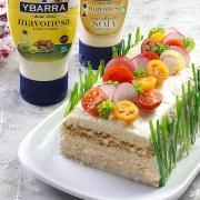 recetas ybarra pastel navidad con mayonesa y soja