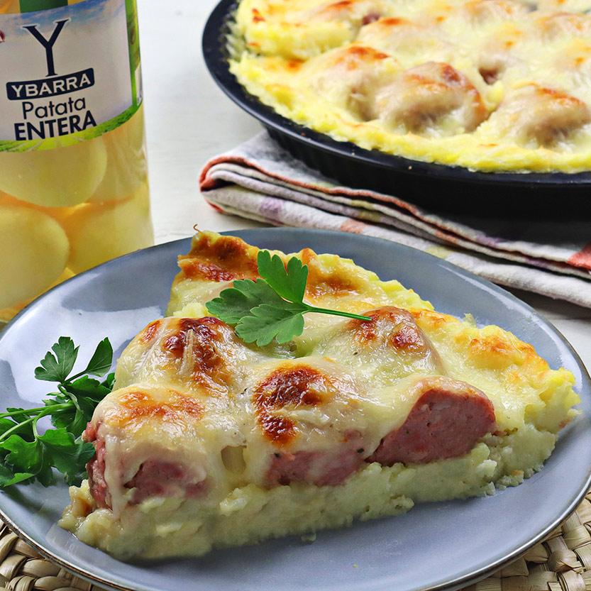 recetas ybarra pastel de patata con albondigas