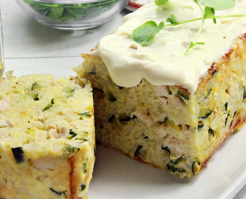 recetas ybarra pastel de pollo con calabacin y mayonesa