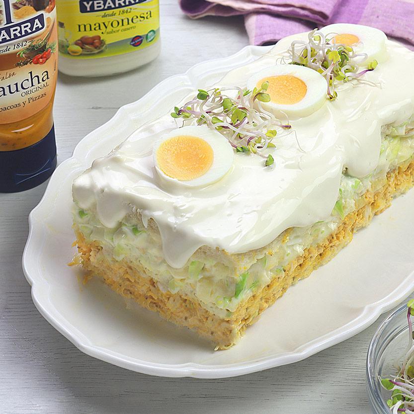 recetas ybarra pastel de pollo con mayonesa gaucha