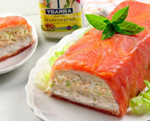 recetas-ybarra-pastel-salmon-mayonesa
