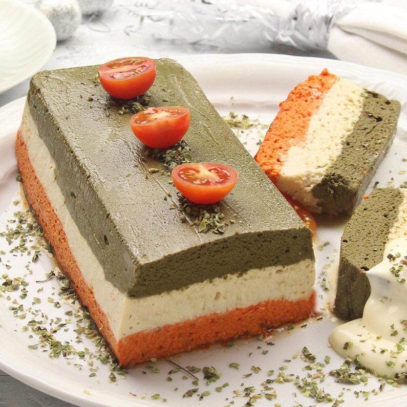 recetas ybarra pastel tricolor con mayonesa