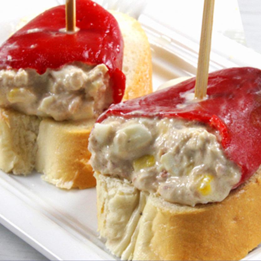 recetas ybarra de pimientos rellenos de atun con mayonesa