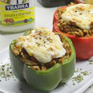 recetas ybarra pimientos rellenos de carne picada y mayonesa