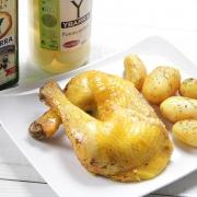 recetas ybarra pollo asado con patatas