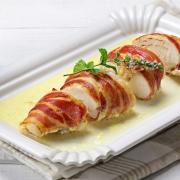 recetas ybarra pollo de bacon con queso