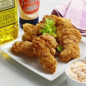 recetas ybarra pollo kentucky con mayonesa sriracha