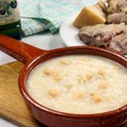 recetas ybarra puchero de arroz, pringa y aceite virgen extra
