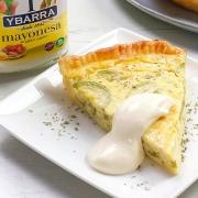 recetas ybarra quiche de calabacin y mayonesa